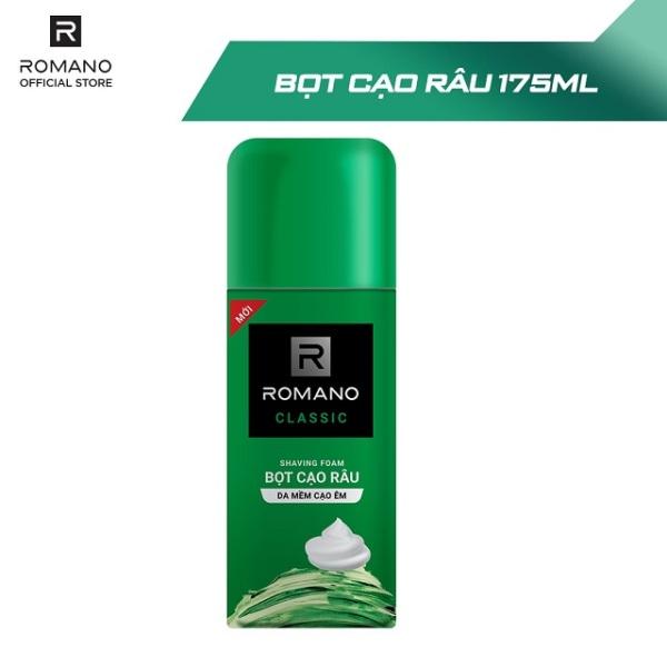 Bọt cạo râu Romano 175ml - cam kết hàng đúng mô tả chất lượng đảm bảo an toàn đến sức khỏe người sử dụng giá rẻ