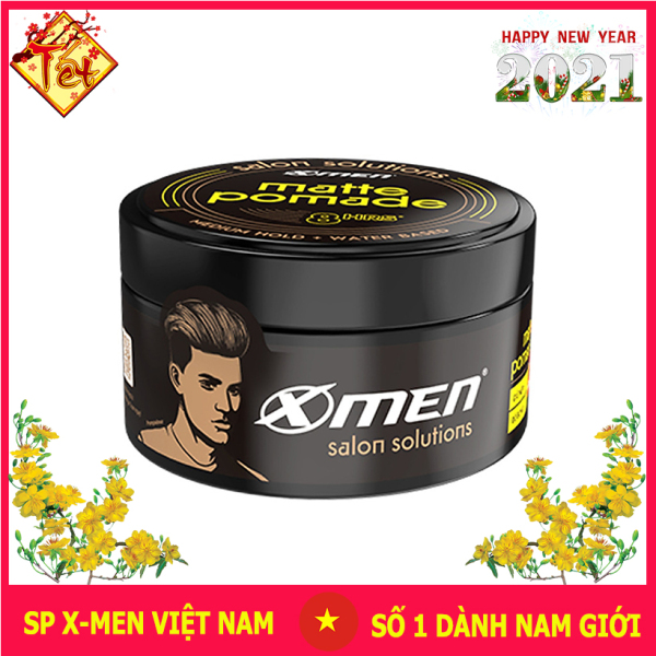 Sáp vuốt tóc Matte Pomade Xmen Salon Solutions 70g nhập khẩu