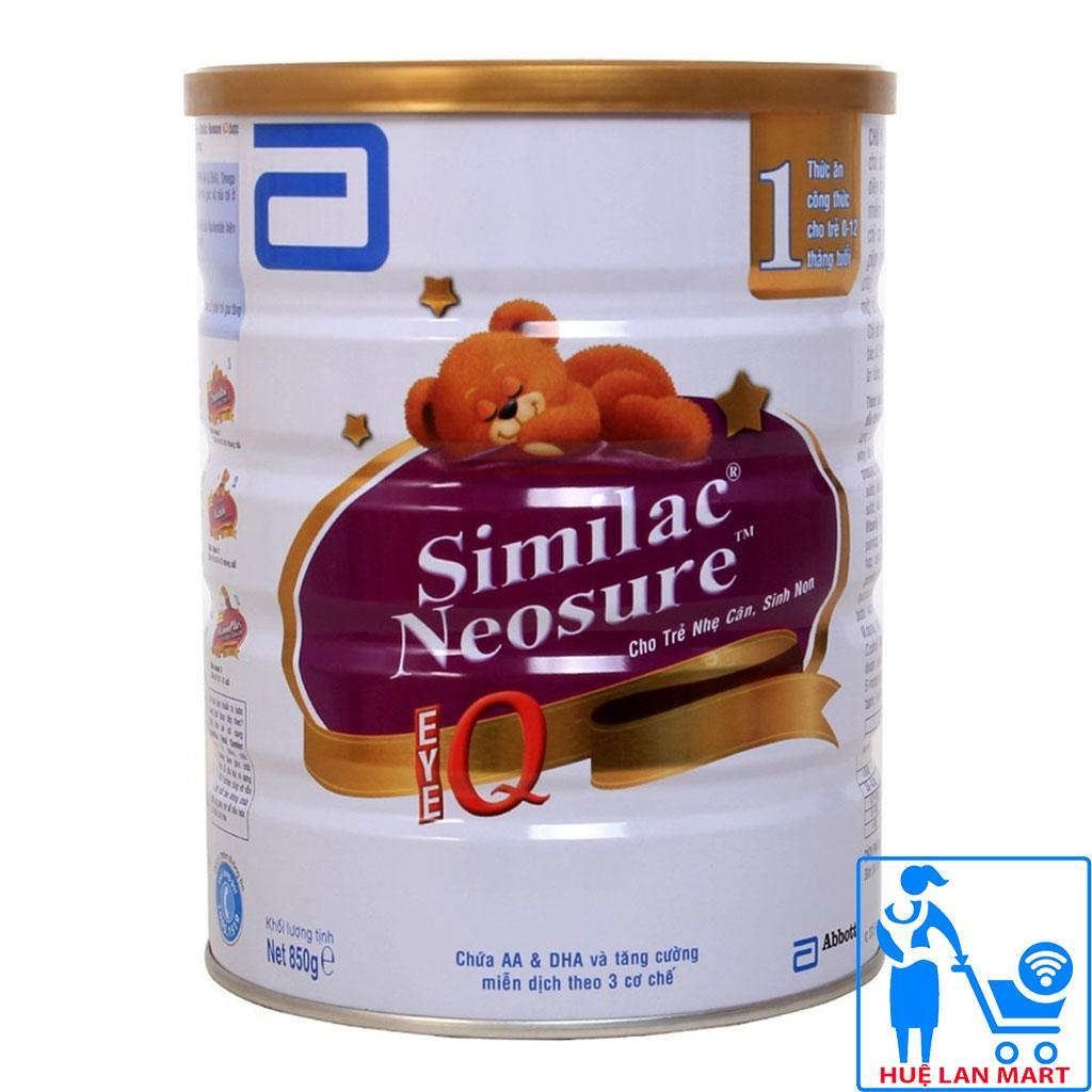 Sữa Bột Abbott Similac Neosure 1 - Hộp 850g (Cho...