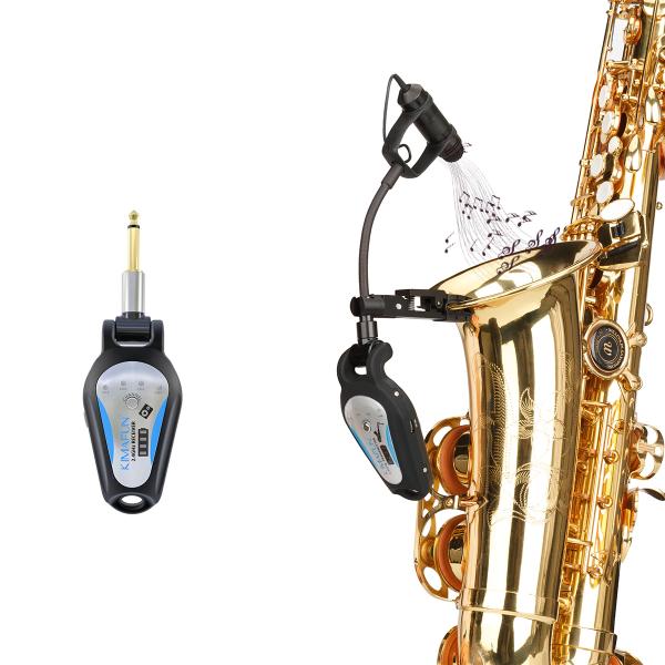 Bộ Microphone Không Dây Dùng cho Saxophone Kimafun CX306-3