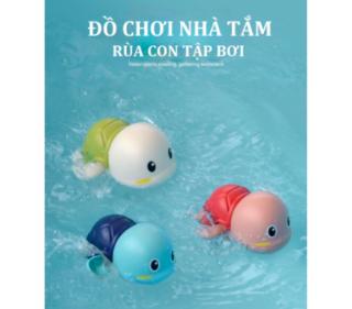 Đồ chơi nhà tắm rùa bơi vặn cót siêu cưng cho bé thỏa sức vui chơi thumbnail
