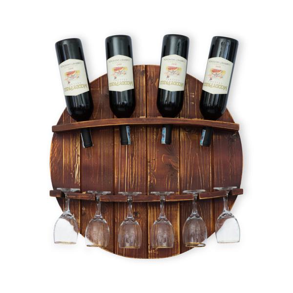 Kệ Rượu Treo Tường KR10