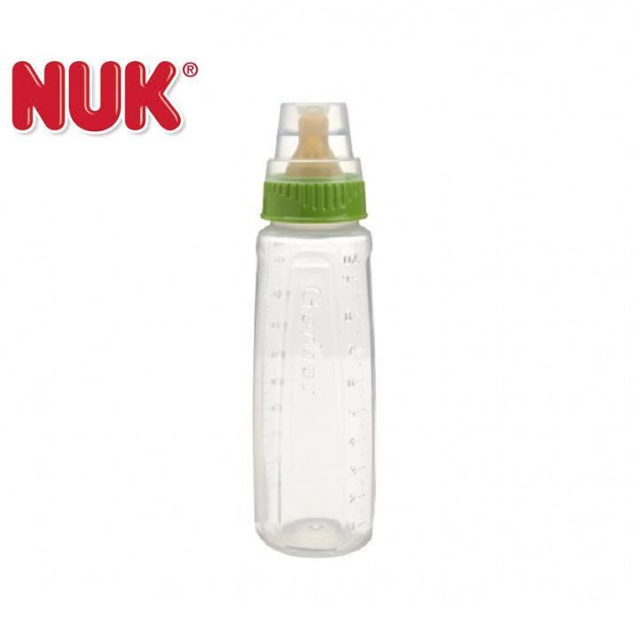 Bình sữa Nuk First Essentials núm cao su 270ml (9oz)