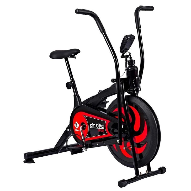 GYM - Xe đạp tập thể dục tại nhà Air bike 8701 Màu đỏ