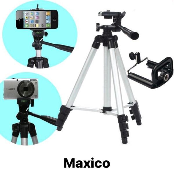 Giá [Bảo hành 100%] Gậy 3 chân Tripod TF - 3120 - giá đỡ chụp ảnh quay phim +Túi đựng + Kẹp cố định