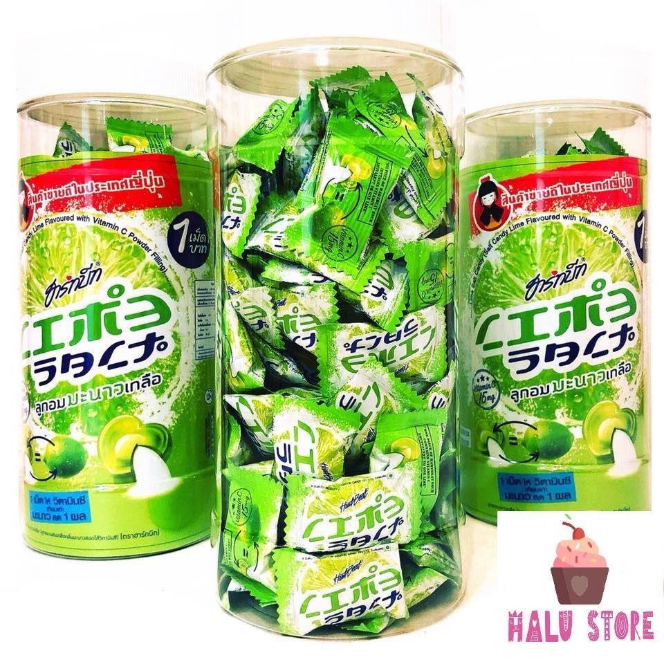 Kẹo chanh muối Thái Lan dạng hủ 100 viên