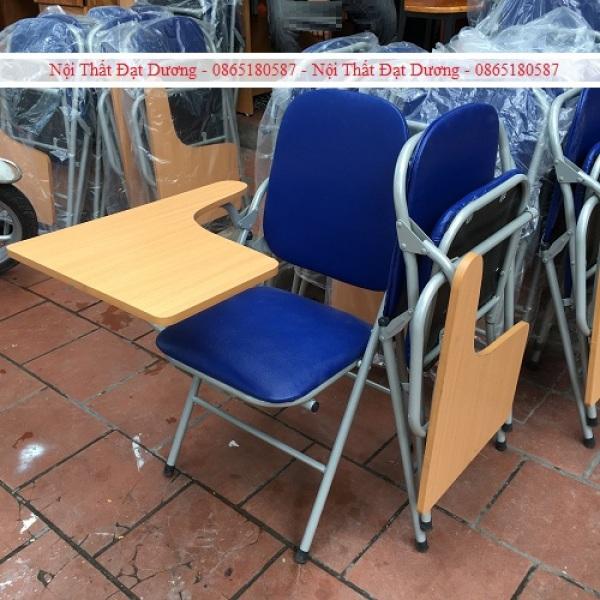 Ghế gấp liền bàn viết - Ghế gấp học tiếng anh GLB4S giá rẻ