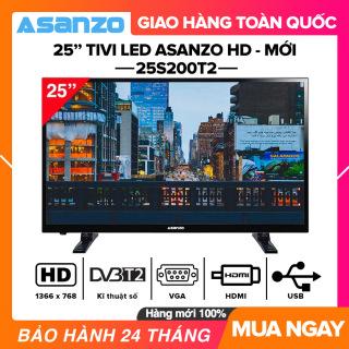[SẢN PHẨM MỚI] Tivi Led Asanzo 25 inch HD - Model 25S200T2 HDMI, VGA, AV, Truyền hình số mặt đất, Âm Thanh Vòm Ảo Dolby, Tivi Giá Rẻ - Bảo Hành 2 Năm thumbnail
