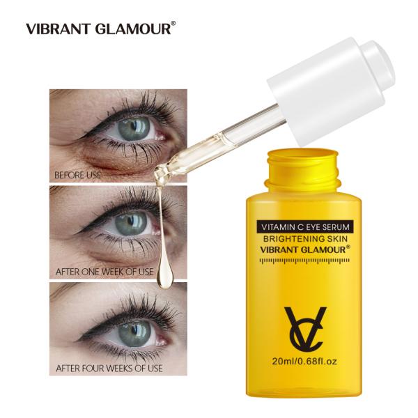 VIBRANT GLAMOUR Vitamin C Thuốc tẩy mắt Huyết thanh mắt đường kẻ mắt Dưỡng ẩm Sửa vòng kết nối tối Kem dưỡng mắt 20ml
