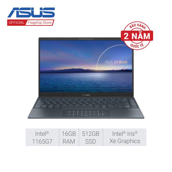 Bảng giá Laptop Asus ZenBook 14 UX425EA-KI439T i7-1165G7   16GB RAM   512GB SSD   Intel Iris Xe   14.0 inch FHD   Win 10   Xám Phong Vũ