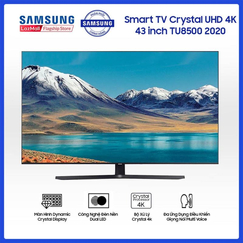 Bảng giá Smart TV Samsung Crystal UHD 4K 43 inch TU8500 2020