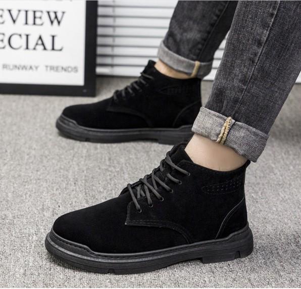 Giày nam, giày bốt cao cổ nam cao cấp mẫu mới nhất SP-309 giá rẻ