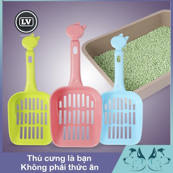 Xẻng nhựa hốt phân vệ sinh cho thú cưng Phụ kiện Long Vũ