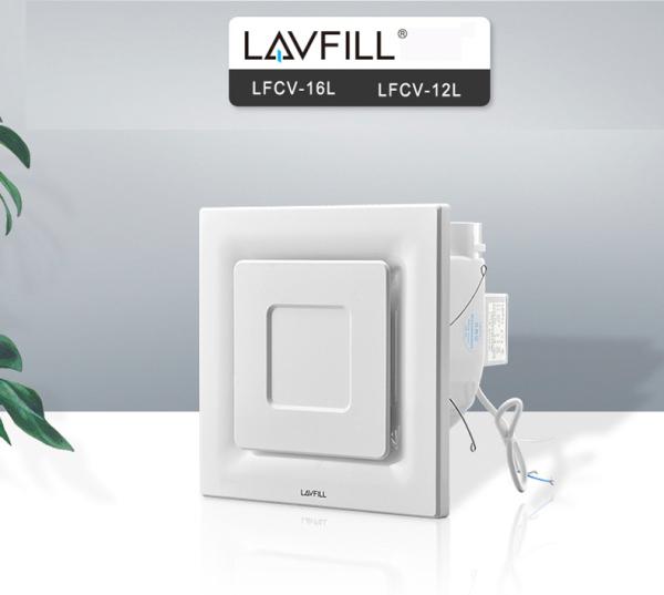 Quạt thông gió âm trần mặt vuông LFCV-12L/ LFCV-16L