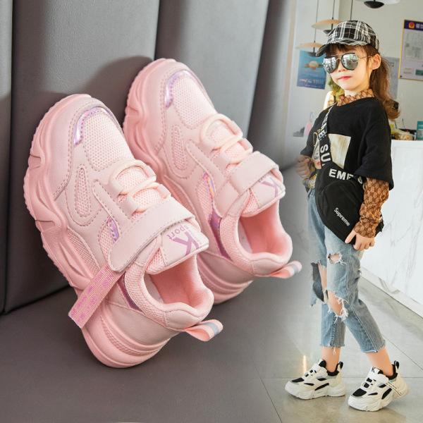 Giá bán Giày thể thao bé gái và bé trai cao cấp từ 3 - 14 tuổi siêu nhẹ đàn hồi kháng khuẩn kiểu dáng thời trang G25