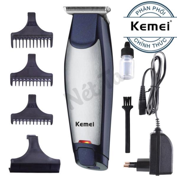 Tông đơ cắt tóc cạo viền không dây Kemei KM-5021 - Hãng phân phối chính thức