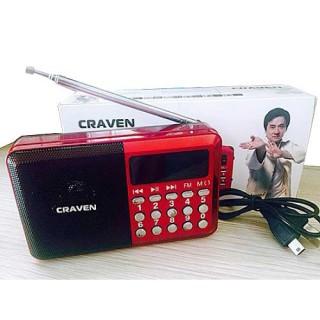 [HCM]Loa nghe nhạc USB thẻ nhớ Craven CR-16 đài Radio USB thẻ nhớ kiêm loa nghe nhạc Craven CR-16 máy nghe nhạc đa năng thông minh Radio mini nghe nhạc đài radio loa mini thumbnail