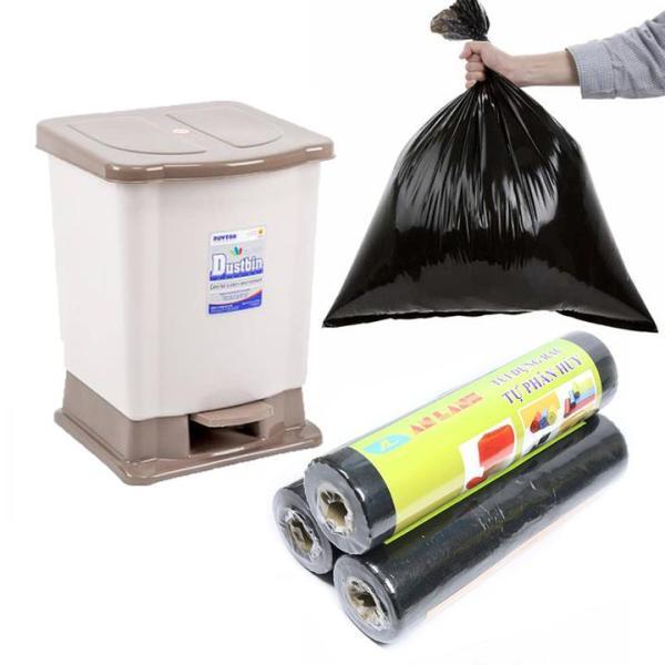 Túi đựng rác tự phân hủy An Lành an toàn bảo vệ môi trường có nhiều kích thước bst