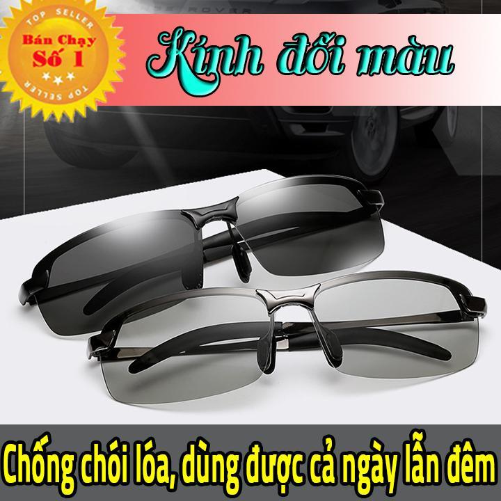 Kính đổi màu, kính râm, kính mát nam, mắt kính polarized phân cực - Chống TIA UV Nhật Bản