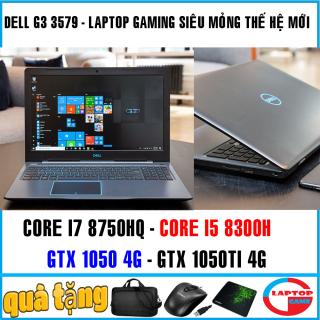 ( GIẢM GIÁ) Laptop gaming mỏng nhẹ Dell G3 3579 CORE I7 8750HQ, CORE I5 8300H, VGA GTX 1050TI, nâng cấp ram lên max 64G thumbnail