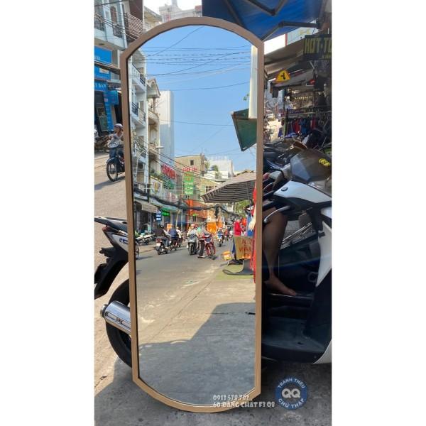 Gương soi toàn thân treo tường vintage cổ điển hình trụ HT