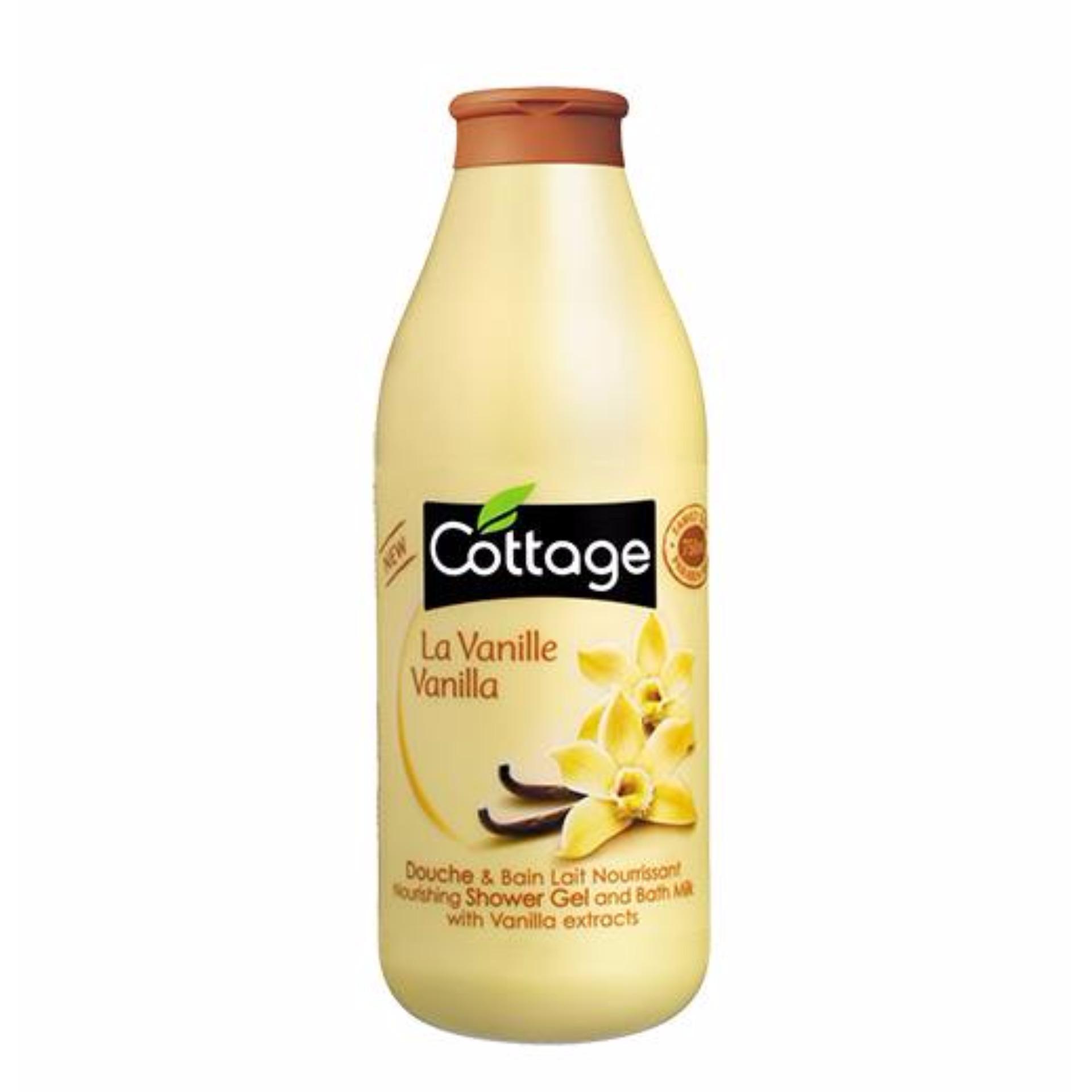 .Sữa tắm Cottage 750ml (Pháp) hàng chuẩn