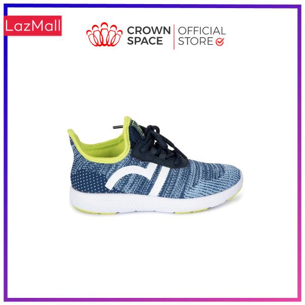 Giày Thể Thao Bé Trai Bé Gái Đi Học Crown Space UK Giày Sneaker Cho Bé Từ 2 đến 14 Tuổi Size 28 đến 35 Đi Siêu Nhẹ Êm Chân Thoáng Khí Chống Trơn Trượt CRUK8022