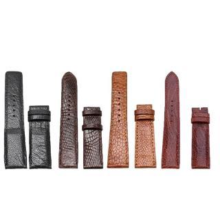 Dây đồng hồ da đà điểu size 16 - 18 - 20 nhiều màu TH8401-02-03-07 thumbnail
