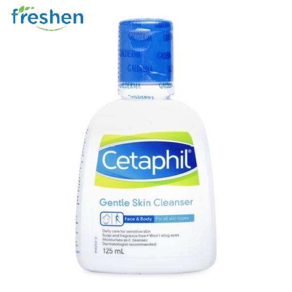 Sữa Rửa Mặt Dịu Nhẹ Cetaphil Gentle Skin Cleanser 125ml nhập khẩu