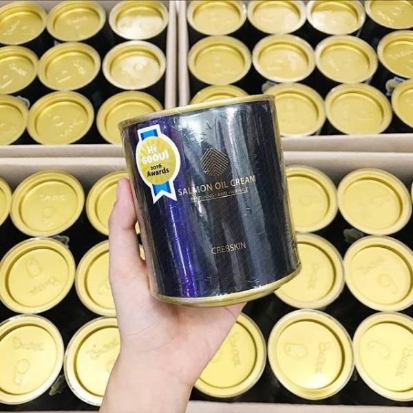 Kem cá hồi Salmon Oil Cream Cre8skin Hàn Quốc