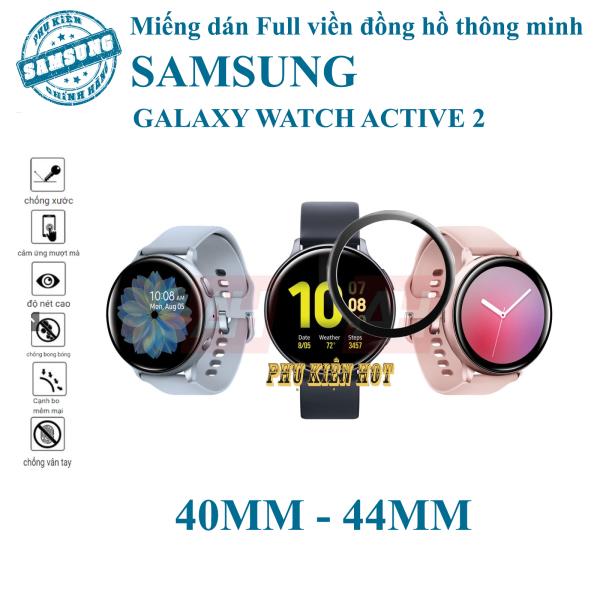 Kính cường lực dẻo full màn hình Samsung Galaxy Watch Active 2