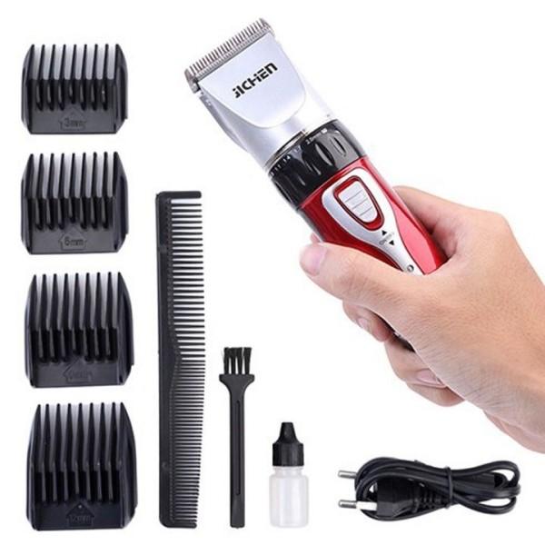 Tông Đơ Cắt Tóc Jichen - Bộ Tông Đơ Cao Cấp đáp ứng mọi nhu cầu sử dụng - Tông đơ cắt tóc tiện lợi, nhỏ gọn dễ dàng sử dụng, phù hợp với mọi lứa tuổi.