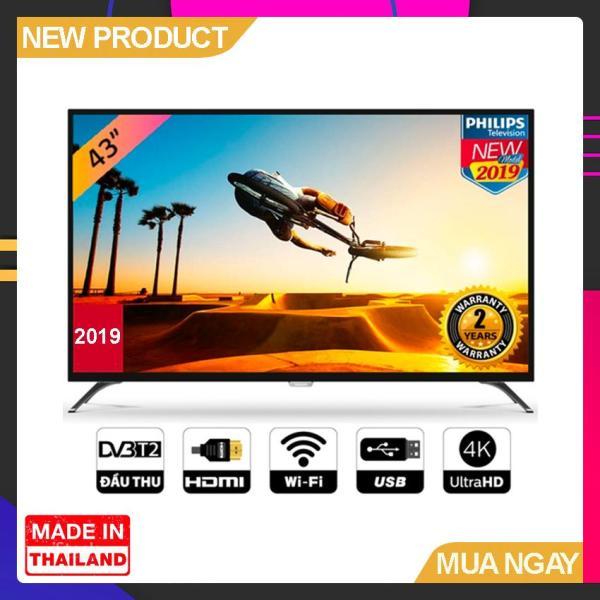 Bảng giá Smart TV Philips 43 inch UHD 4K - Model 43PUT6023S/74 (2019) Tích hợp DVB-T2, Wifi - Bảo Hành 2 Năm