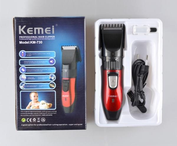 (SALE SIÊU RẺ) Tông đơ cắt tóc Kemei KM-730 sạc điện giá rẻ