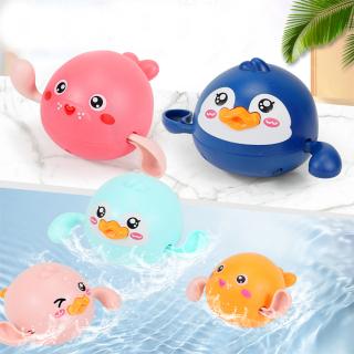 [Freeship 10K] Vịt Bơi Đồ chơi nhà tắm, đồ chơi thả bồn tắm Vịt con lên dây cót và bơi dưới nước vui nhộn, dễ thương, nhựa nguyên sinh an toàn thumbnail