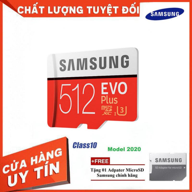 Thẻ Nhớ MicroSDXC Samsung EVO Plus U3 512GB 100MB/s MB-MC512H - Hàng Chính Hãng