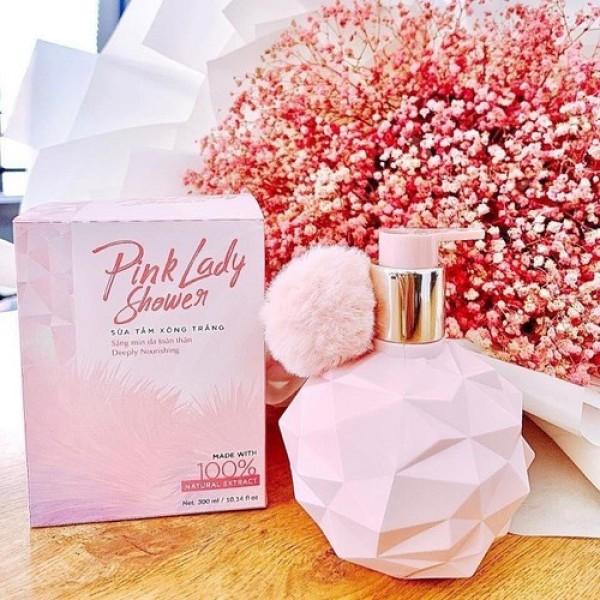 { MIỄN PHÍ VẬN CHUYỂN } Sữa Tắm Pink--Lady - Sữa Tắm Xông Trắng