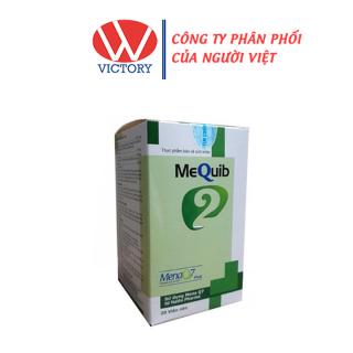 Viên Uống Mequib 2 (Hộp 20 Viên) - Tăng Cường Hấp Thu Canxi Giúp Tăng Chiều Cao - Victory Pharmacy thumbnail