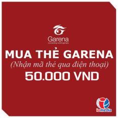Mã Thẻ Game Garena 50.000 - Nhận Mã Qua SMS - Siêu Nhanh Siêu Khuyến Mại