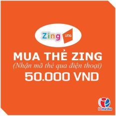 Mã Thẻ Game Zingxu 50.000 - Nhận Mã Qua SMS - Siêu Nhanh Giá Cực Cool