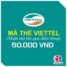 Hình ảnh Mã thẻ Viettel 50.000