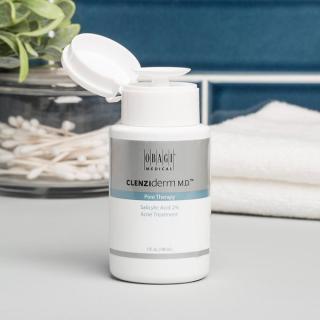 Toner Obagi BHA 2%, nước hoa hồng, toner cho da dầu mụn, giúp tẩy tế bào chết, ngừa mụn, giảm mụn, giảm nhờn, dưỡng ẩm, cân bằng da Obagi Clenziderm MD Pore Therapy - 148ml thumbnail