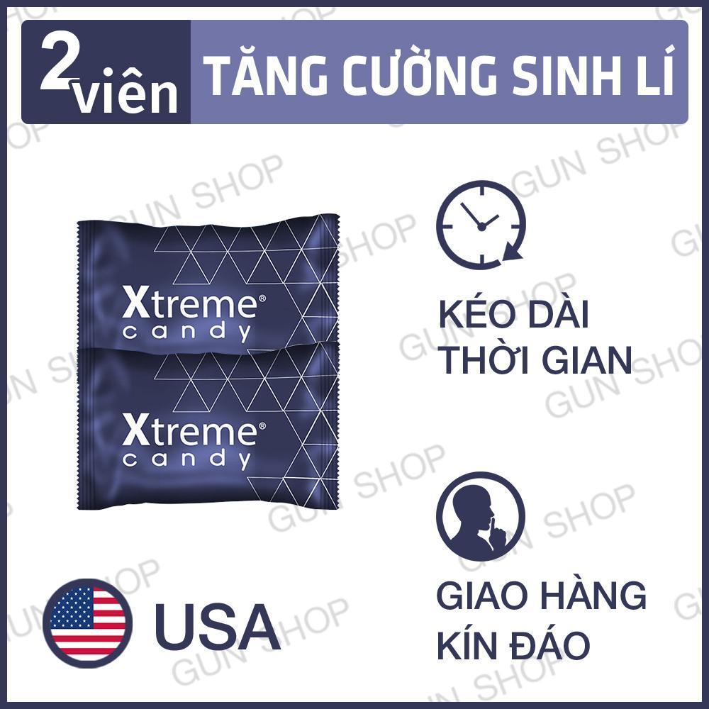 [Hiệu quả hơn 40% kẹo Hamer] Bộ 2 Kẹo Sâm Xtreme (Mỹ) Kéo dài thời gian quan hệ cho Nam Giới 1 viên - Toro nhập khẩu