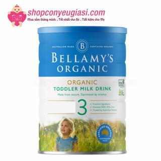 Sữa Bột Bellamy s Organic Công Thức Số 3 - 900g - Mẫu mới thumbnail