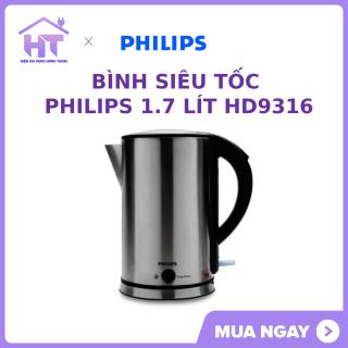 Bình siêu tốc Philips 1.7 lít HD9316 trung Bay CHÍNH HÃNG thumbnail