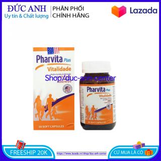 [HSD 2024] Viên uống vitamin tổng hợp Pharvita Plus bồi bổ cơ thể, tăng cường sức đề kháng, giảm mệt mỏi suy nhược - Chai 30 viên thumbnail