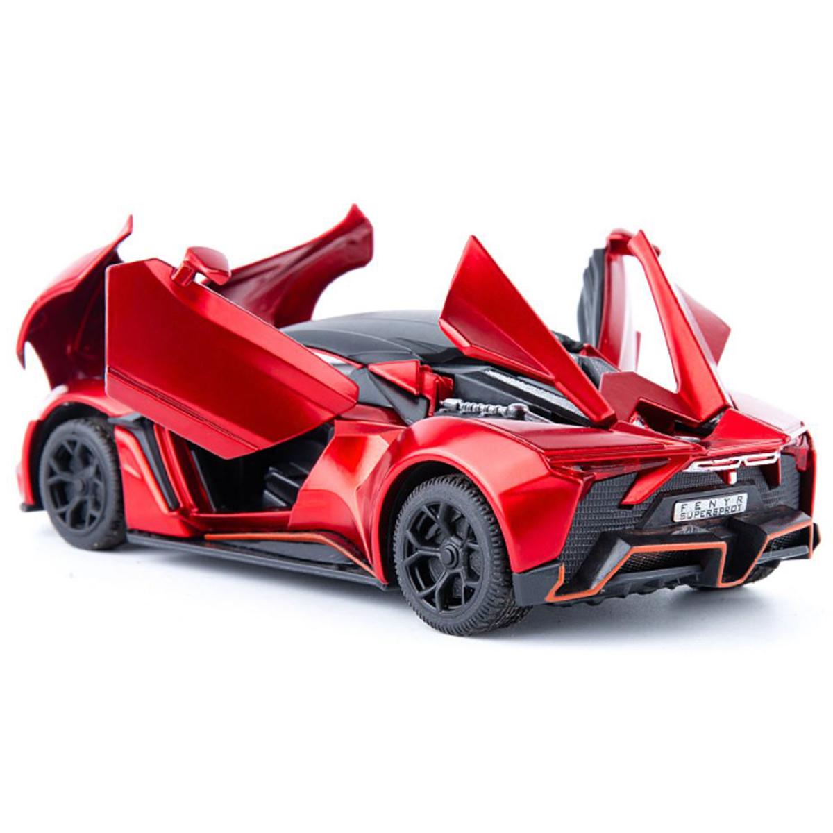 Siêu xe ô tô mô hình kim loại Lykan Hypersport tỷ lệ 1:32 Brand Skyhawk