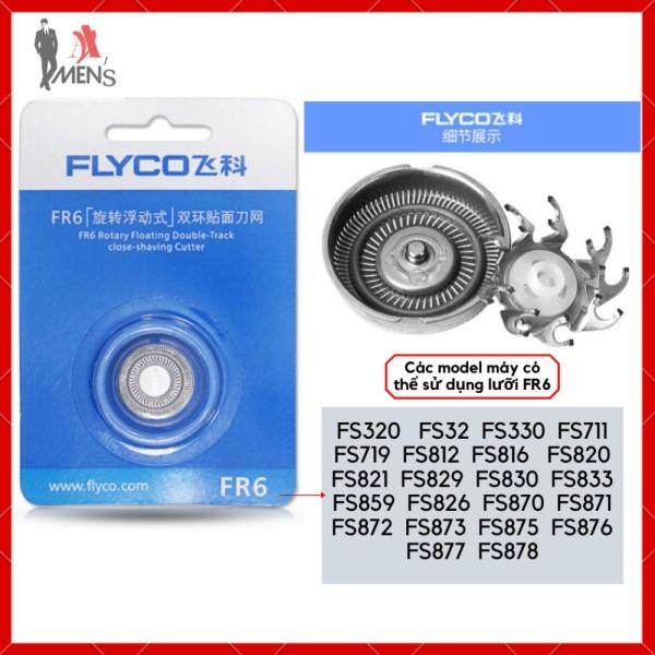 Lưỡi máy cạo râu FLYCO FR6, FR8 cao cấp thay thế cho tất cả các model dòng máy cạo râu FLYCO giá rẻ