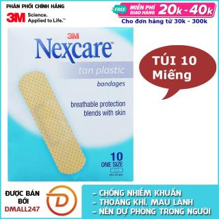 Túi 10 miếng băng keo cá nhân màu da Nexcare 3M BKCN-TAN thumbnail