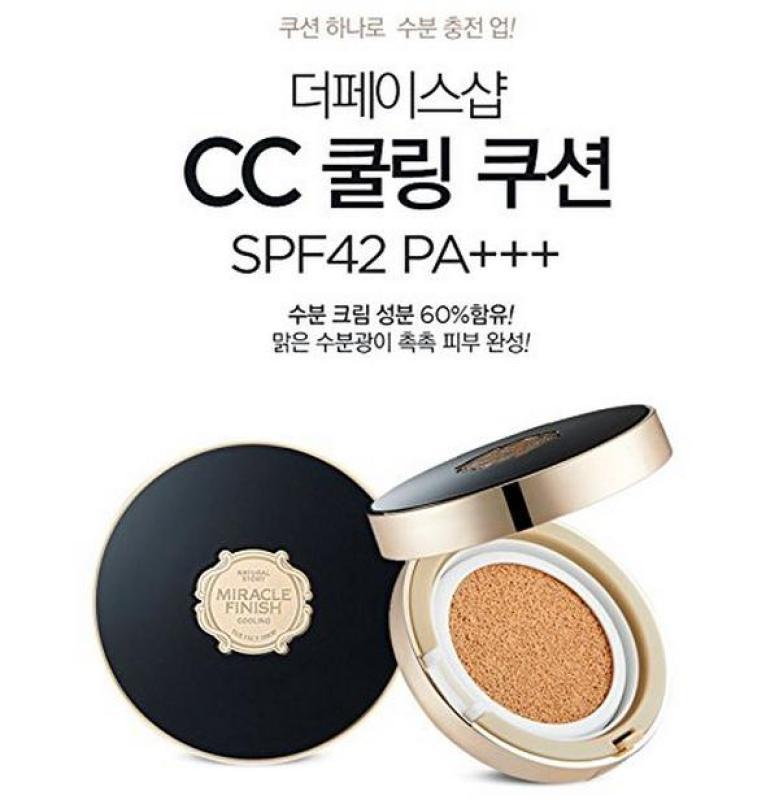 Phấn Nước The Face Shop CC Cooling Cushion SPF42 PA+++ (15g), Cực Hot
